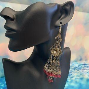 Beautiful Chandelier Style Fashion Earrings